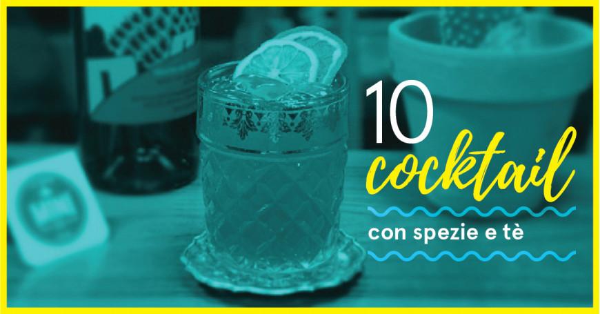 10 Cocktail con Tè e Spezie per Bartender e Mixologist