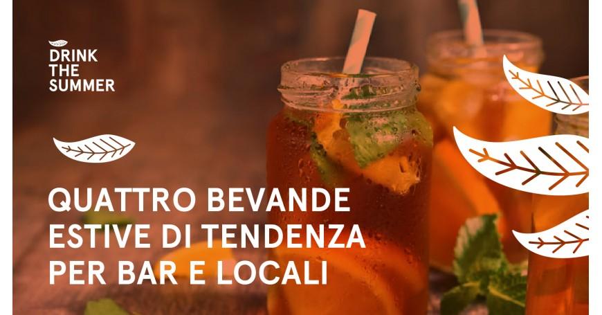 4 bevande estive che non possono mancare in un bar di successo