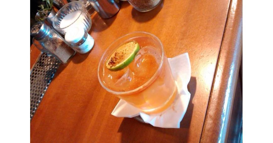 Green Monkey Rum Punch
