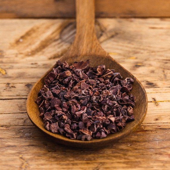 Nibs di cacao crudo