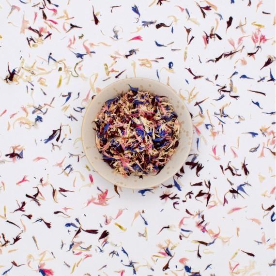 Fiori Edibili Mix di Fiordaliso in petali