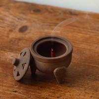 Brucia incensi per resine o grani