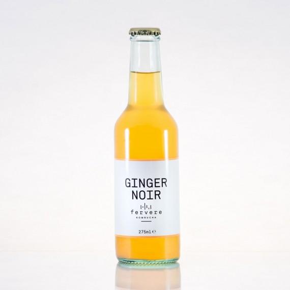 Kombucha Ginger Noir (12 Pezzi)