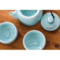 "Tea set ""Koi"""