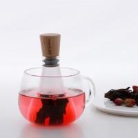 Flask filtro per tè e tisane in foglia