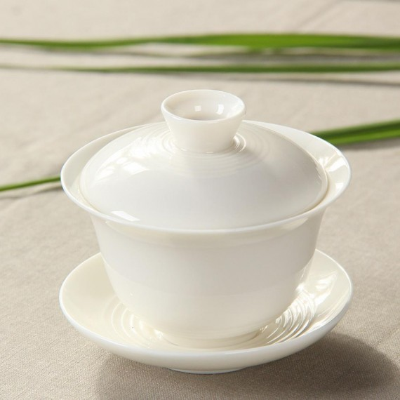 Gaiwan in porcellana