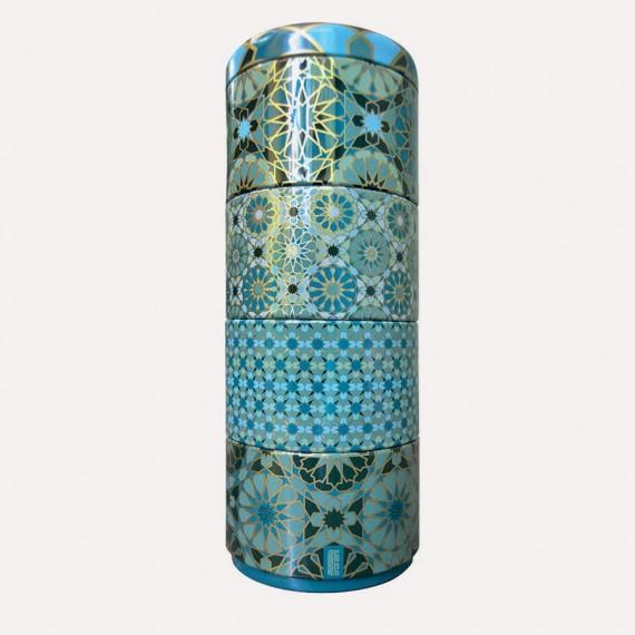 Scatola da tè componibile a 4 piani Andalusia