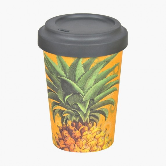 Tazza in bambù Pineapple