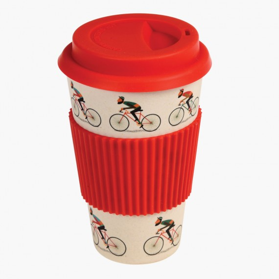 Tazza in bambù bicycle