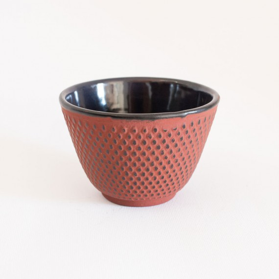 Tazza in ghisa rossa 120 ml