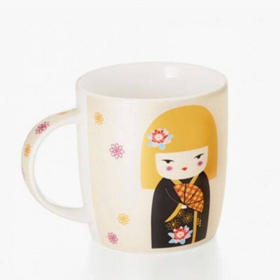 Tazza da tè o tisana Kokeshi