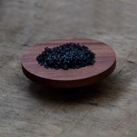 Sale nero delle Hawaii Black Lava