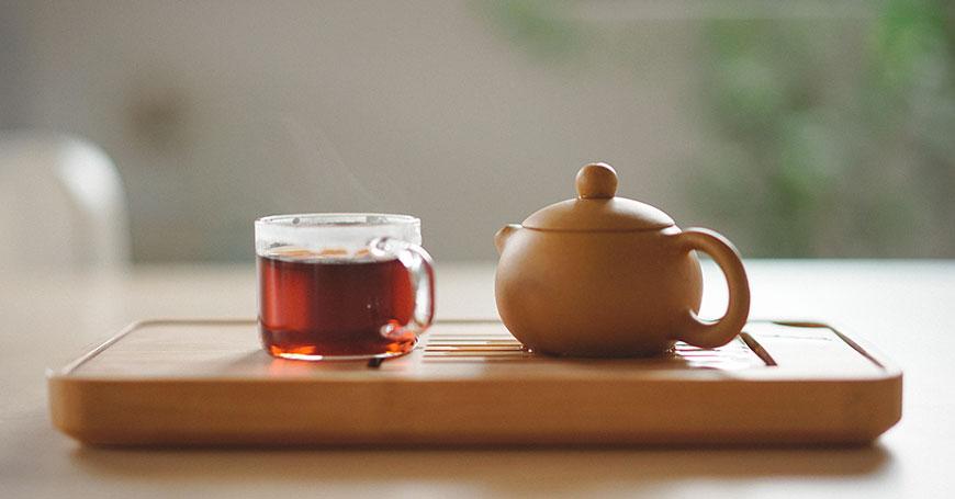acqua per il tè