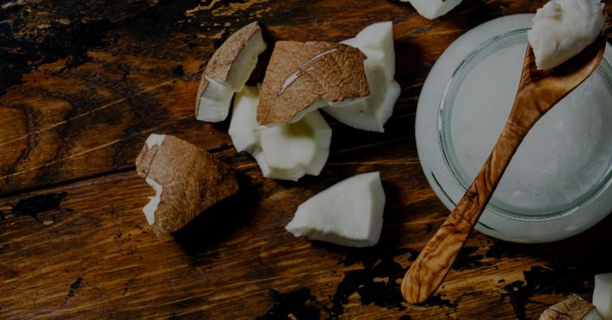 candida olio di cocco