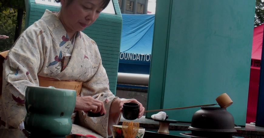 cerimonia tè giapponese