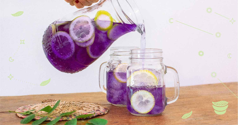 come fare il tè freddo con bustine di tè e brocca