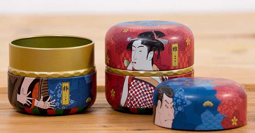 scatola per conservare tè e tisane