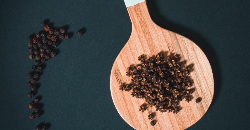 pepe nero tisana curcuma
