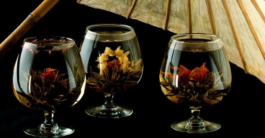 fiori da tè centrotavola