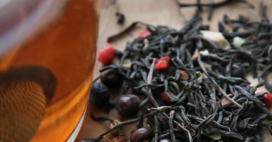tè nero per kombucha