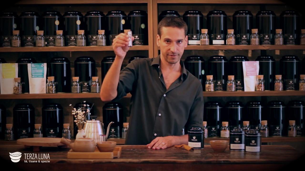 video preparazione del tè