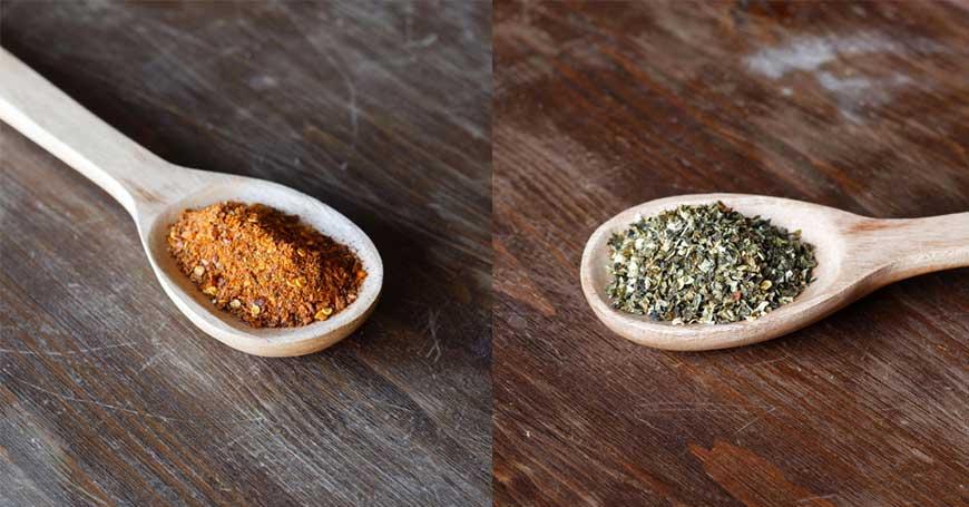 sostituire il sale con peperoncino
